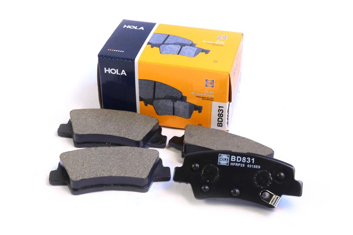 BD831, тормозные колодки дисковые, BD831
