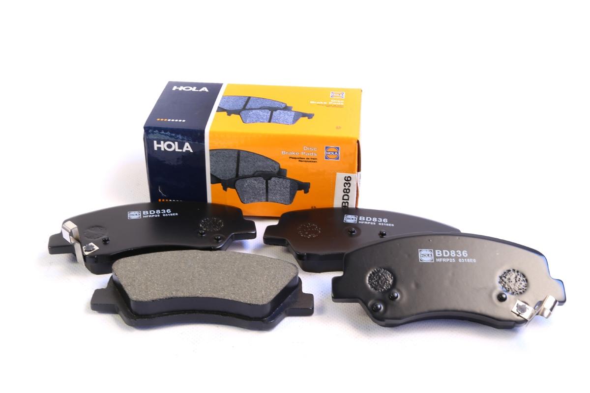 BD836, тормозные колодки дисковые, BD836