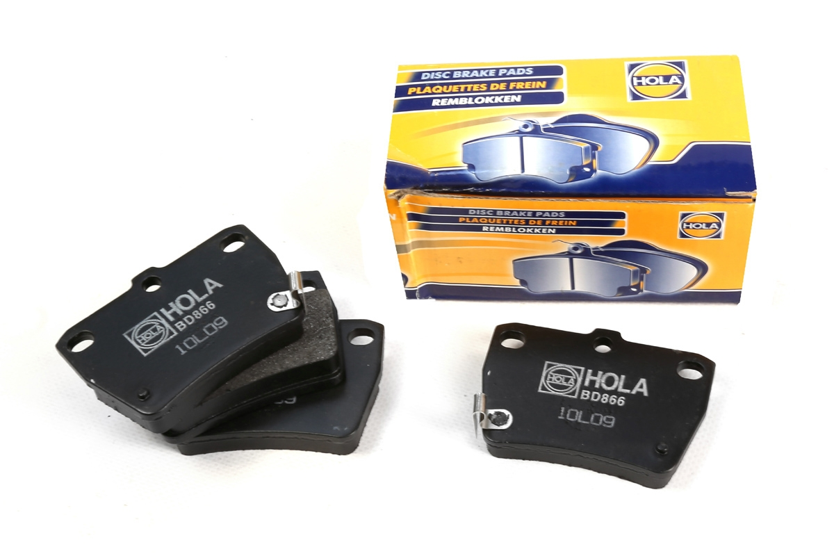 BD866, тормозные колодки дисковые, BD866