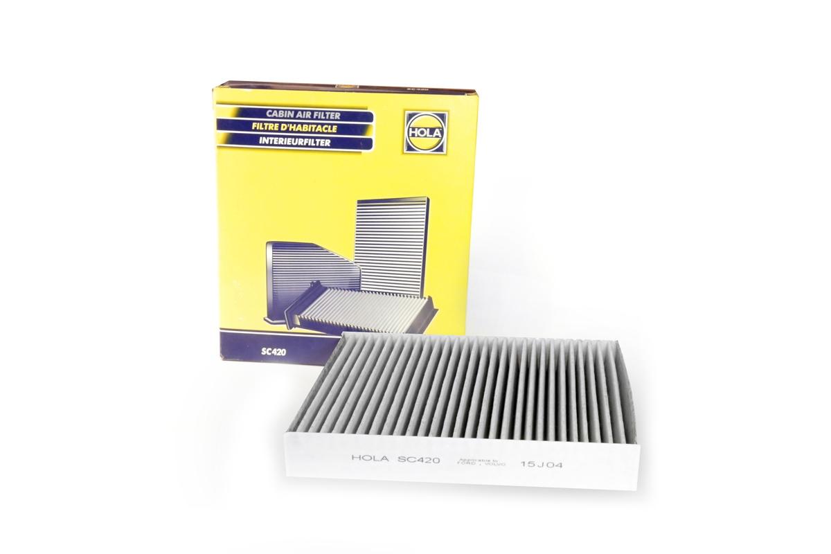 SC420, фильтр салонный угольный, SC420