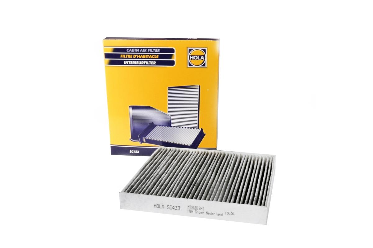 SC433, фильтр салонный угольный, SC433