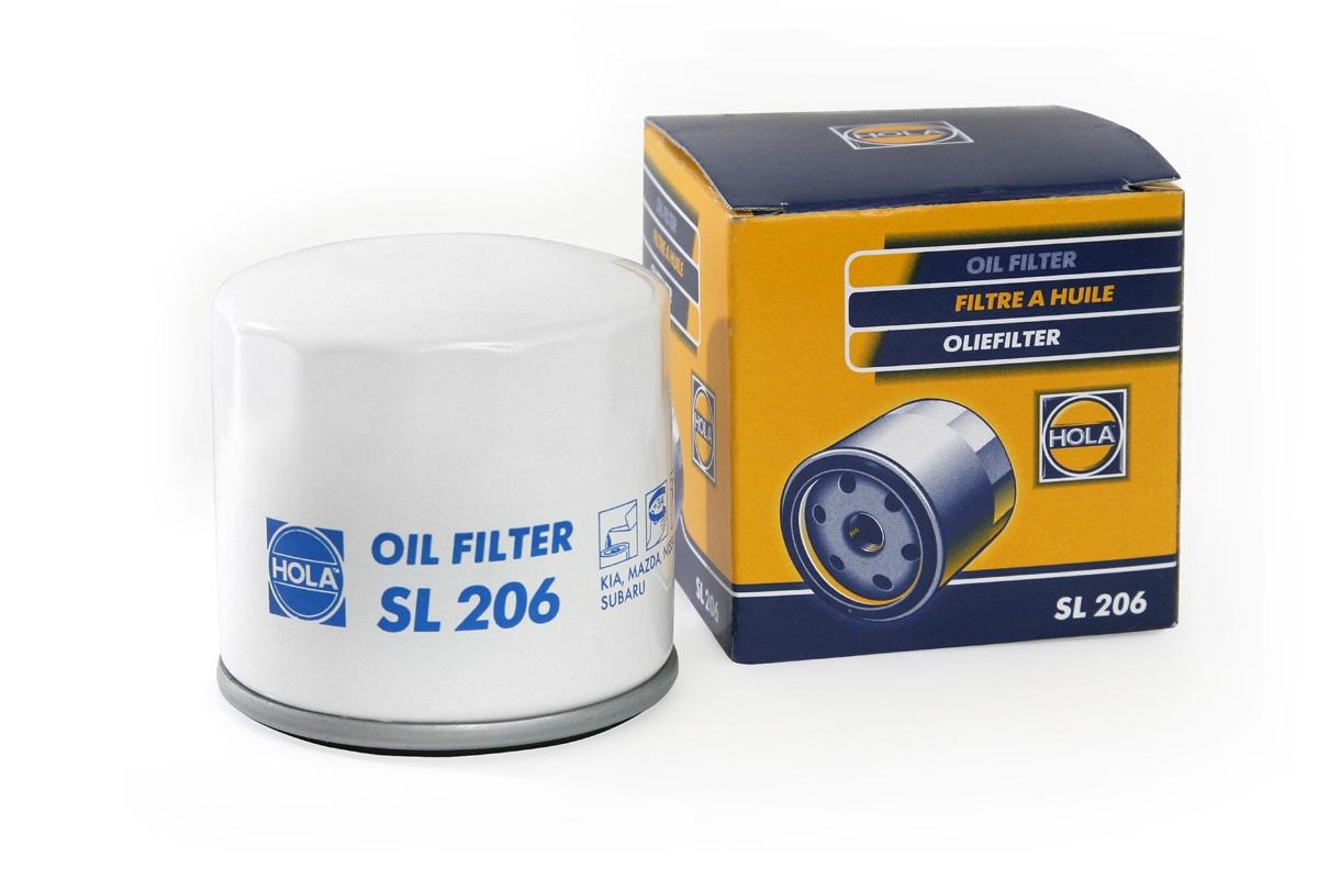 SL206, фильтр масляный, SL206
